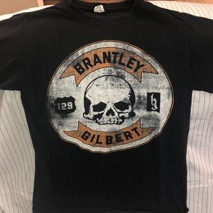Brantley Gilbert 2013 Concert Tour T-shirt S
